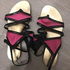 Moschino Pink Sandals Sz 36